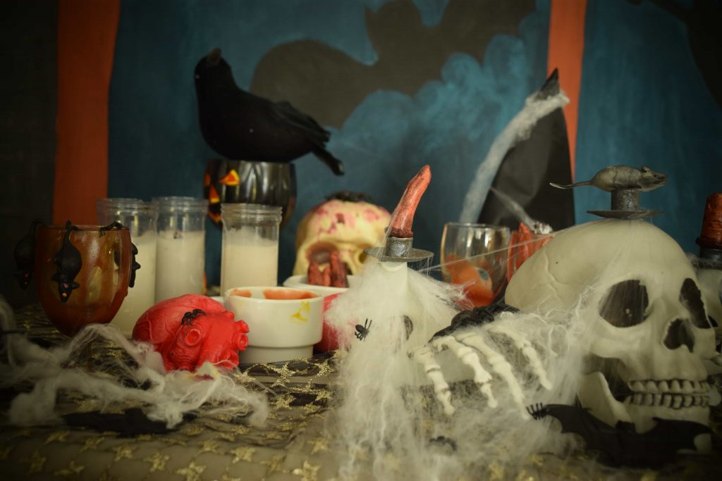 Club Mac Halloween party 2019 decorations