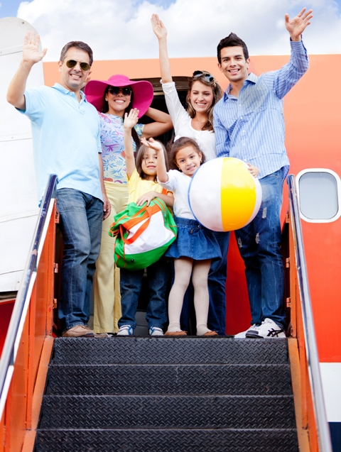 Families-on-a-plane